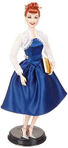 Barbie Signature Colección Tributo Lucille Ball, muñeca de colección de juguete (Mattel GXL16)