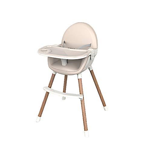 FairOnly 2-in-1 Kindermultifunktionsbaby-speisender Stuhl-Faltbarer beweglicher Baby-Stuhl-Sitz Champagner - Baby