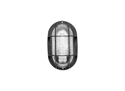 Fenoplástica - Aplique de Pared 7440 N, E27, 60 watts, Negr