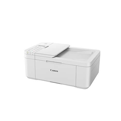Impresora Multifuncional Canon PIXMA TR4551 Blanca Wifi de inyección de tinta con Fax y ADF