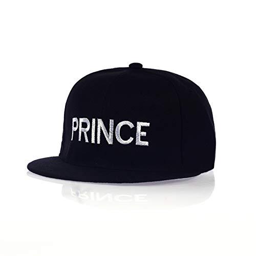 Baseballmütze Prince Princess Stickerei Männer Frauen Snapback Hut Paar Baseball Cap Freund Geschenke Für Mode Hip-Hop Caps