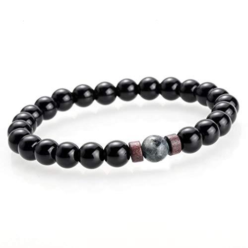 ASIG Moonstone Kraal Tibetaanse Boeddha Armband chakra Lava Stone Diffuser Armbanden Mannen Sieraden gift Drop Verzending