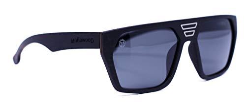 Óculos de Sol Joe, Mafia Wood Exclusive Wear, Adulto Unissex, Prata, G