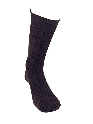 kler 6462 - calcetines algodon sin puño (unica, negro