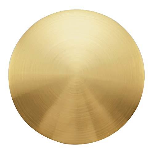 RANDOM Bathroom Faucet Vessel Vanity Sink Pop Up Drain Stopper without Overflow, Brushed Gold(Pop Up Drain Brushed Gold)