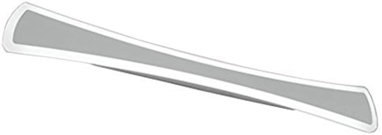 Energiesparende LED Wasserdicht Beschlagfrei Bad WC Spiegel leuchten Wandleuchte Nordeuropa Einfache, moderne Spiegel Schrank Kommode kleiderschrank dickem Acryl Spiegel vorne Licht (weies