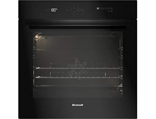 Brandt BXP6355B four Four électrique 73 L 3385 W Noir A+ - Fours (Moyenne, Four électrique, 73 L, 3385 W, 73 L, A pyrolyse)