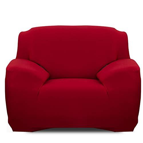 Souarts Sofabezug elastische Stretch Sofaüberwurf Sofa Couch Sessel Husse Bezug Decke Sofabezüge 1/2 / 3/55 Sitzer