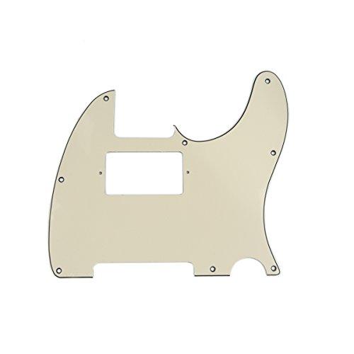 Musiclily 8 Agujeros Tele Pickguard Golpeador Humbucker HH para Fender American/México Standard...