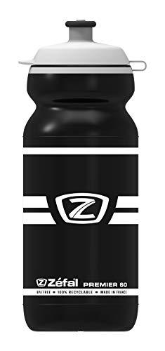 ZEFAL Premier 60 Bidón, Unisex Adulto, Negro, 600 ml