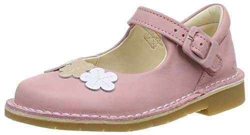 Clarks Mädchen Comet Gem T Ballerinas Sneaker, Dusty Pink Lea, 23 EU