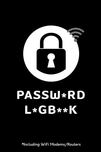 Password Logbook: website internet address book plus wifi modem/router password pages. journal or notebook for seniors with tabs A to Z