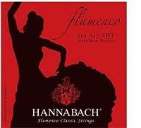 HANNABACH/クラシックギター弦 Flamenco/SET827【ハナバッハ】赤 SHT スーパーハイテンション