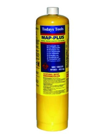 MAPP Gas Map Plus 435g Bottle Disposable Gas Cylinder plumbers torch jet burner