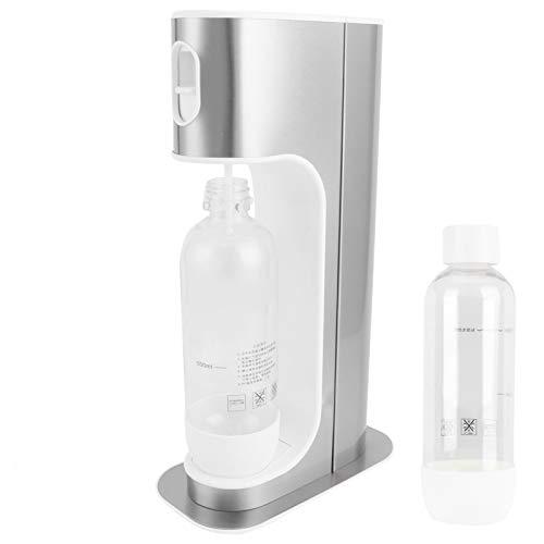Yisentno Fabricante de Agua con Gas, Botella de Agua Desmontable One Touch 1000L, máquina de refrescos portátil sin BPA, para Oficina Comercial, Fiesta en casa
