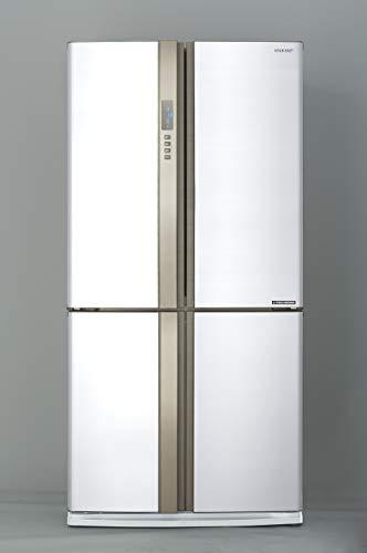 Sharp SJ-EX820FWH Kühl-Gefrierkombination / A++ / Hybrid Kühlsystem / 605 Liter Nutzinhalt / 394 Liter Kühlteil / 211 Liter Gefrierteil /No-Frost / Abtauautomatik