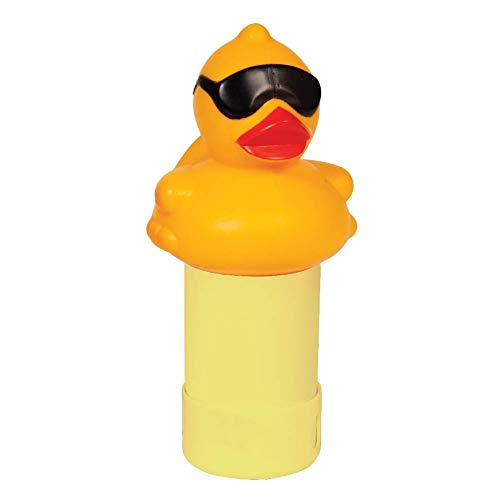 GAME 17201-BB Derby Duck Spa Chemical Dispenser, Yellow