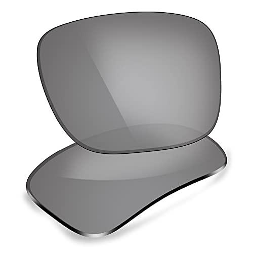 ThunderClap Lentes de repuesto polarizadas para gafas de sol Arnette Reserve AN4226, Ultimate Gray - Polarizado, Talla única