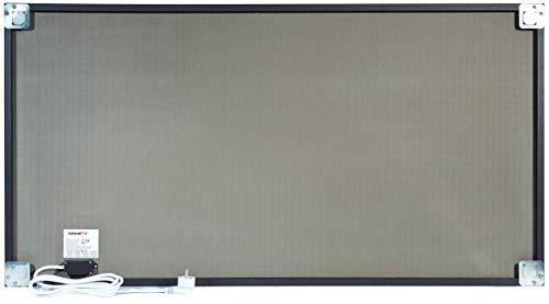 InfrarotPro | Infrarotheizung 750 Watt | Bildheizung 120x60x3 cm | Made in Germany | Geprüfte Technik | Ultra-HD Auflösung | (Fußabdruck in der Sahara) Bild 2*