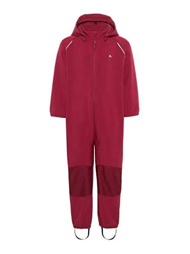 Name it Softshell-Overall in Brombeere mit