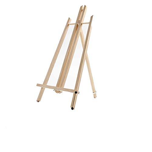 1 caballete de madera de haya, práctico y plegable, suministros de arte esenciales para bosquejar, adecuado para principiantes y estudiantes (tamaño: 50 cm)
