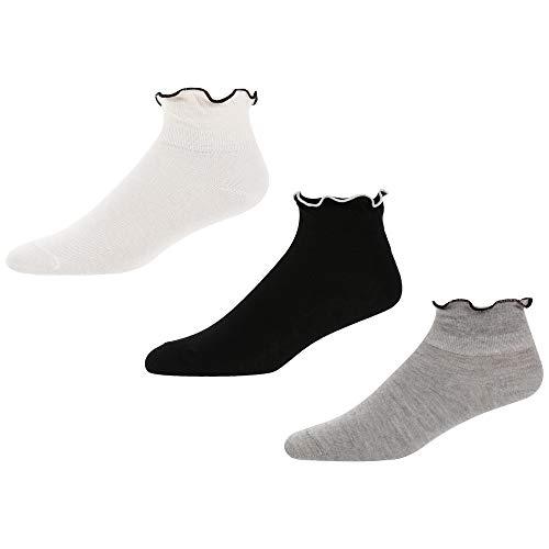 Pepe Jeans Womens Socken MATILDA 3 Paar Grey Ecru Black, Größe:One Size