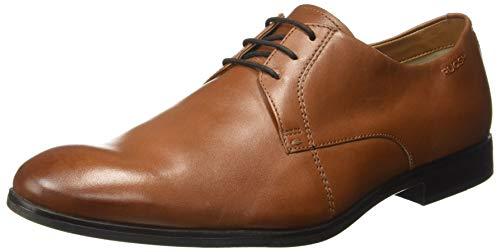 Ruosh Men's Tan/Light Brown Leather Formal Shoes-9 UK/India (43 EU) (1121140372)