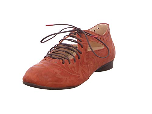Think! Guad_3-000215 nachhaltiger, Wechselfußbett, Zapatos Tipo Ballet Mujer, Rejilla 3010, 41.5 EU