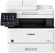 Canon Imageclass MF445dw - All In One, Wireless, Mobile Ready Duplex Laser Printer, with 3 Year Warranty, White, Amazon Dash Replenishment Ready