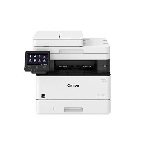 Canon Imageclass MF445dw - All In One, Wireless, Mobile Ready Duplex Laser Printer, with 3 Year Warranty, White, Amazon Dash Replenishment enabled