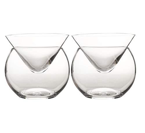 Coppa Caviale, 2 Pezzi, Universale, Per Martini, Vino, Liquori, Cocktail