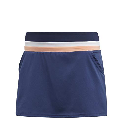 adidas Club Falda, Mujer, Azul (indnob), L