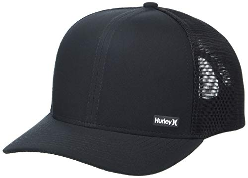 Hurley M League Hat Gorras/Sombreros, Hombre, Black, 1SIZE