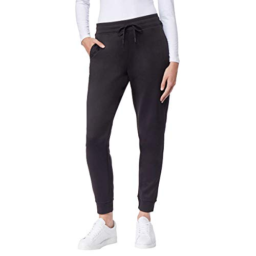 32 DEGREES Ladies Tech Fleece Jogger (S, Black)