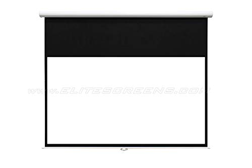Elite Screens Rolloleinwand Premium Manual HT 244 x 137 cm, 16:9 Format 110 Zoll, M110HTSR2-E20