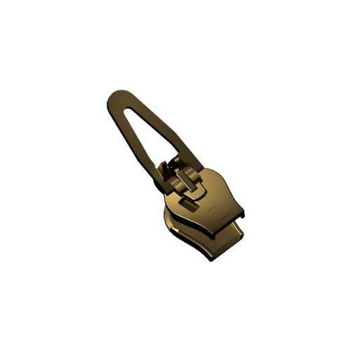 ZlideOn Reißverschluss reparieren 5C2-2 - Innovation aus Höhle der Löwen - Egal ob der Reissverschluss Schieber klemmt oder kaputt Reißverschluss Zipper repariert - Kunststoff & Metall in Altmessing