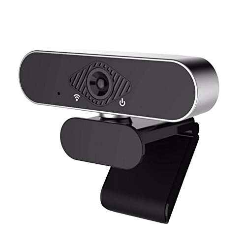 Gelentea USB HD Webcam Video Calling Camera voor Conferentie Thuis Office Desktop Laptop PC Voor Online Leren, Live Broadcasting, Video Conferencing