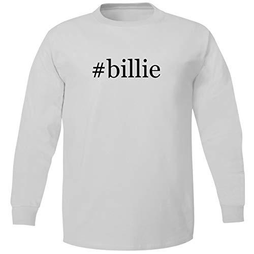 Bucking Ham #Billie - Adult Soft Long Sleeve T-Shirt, White, XXX-Large