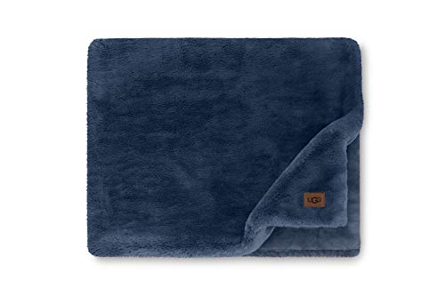 UGG Euphoria Plush Fur - Reversible Throw Blanket, Indigo