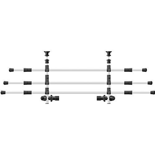 Trixie 13171 - Rejilla Seguridad para Coche, Ancho: 96–163 cm, Altura: 34–48 cm, Plata/Negro