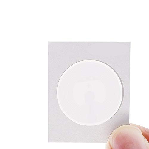 Timeskey NFC 100PCS NFC Tags NTAG215 NFC Stickers NXP NTAG 215 100% Compatible with Amiibo and Tagmo, Fully Programmable and Writable
