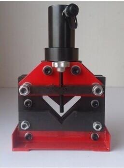 Angle de coupe acier Gowe hydraulique hydraulique Angle de coupe de fonte d'acier 6 mm d'épaisseur