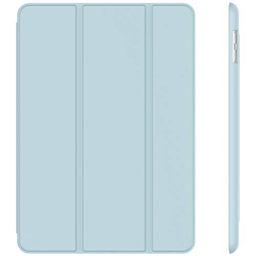 JETech Hülle Kompatibel iPad (9,7 Zoll, Modell 2018/2017, 6. / 5. Generation), Intelligent Schutzhülle mit Auto Schlafen/Wachen, Hellblau