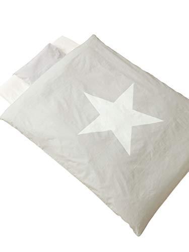 ANGELIEBEエンジェリーベオリジナル日本製ママと作ったベビー布団8点セット洗えるお布団星寝具赤ちゃんグレー6117011