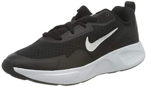 Nike WearAllDay (GS), Sneaker, Black/White, 38 EU