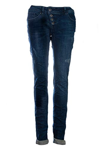Buena Vista Damen Jeans Malibu Slim Fit Blue (82) L