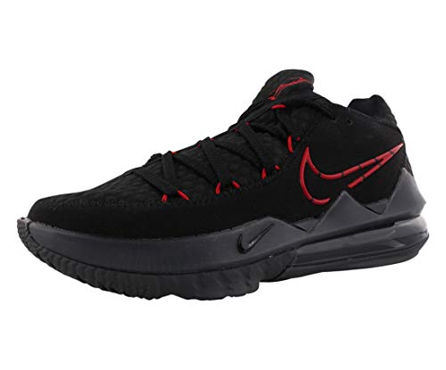 Nike CD5007-001, Basketball Shoe Mens, Black/University Red/Dark Grey