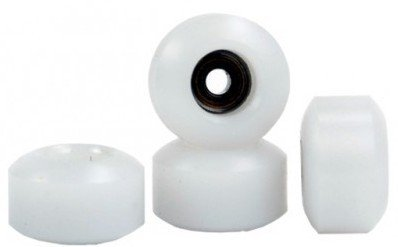 Blackriver Ramps Winkler Wheels Fingerboard Rollen Set Big Daddy´z White (4 Rollen)