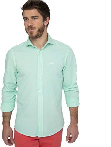 Scotta 1985 – Camisa Estructura Regular Fit, Algodón, Casual para Hombres