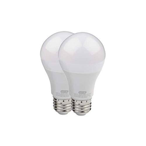 Genie LED Garage Door Opener Bulbs (2-Pack) / 60 Watt Equivalent (800 Lumens) - Made to Minimize Interference with Garage Door Openers (Compatible with All Major Garage Door Opener Brands) – 2 Pack